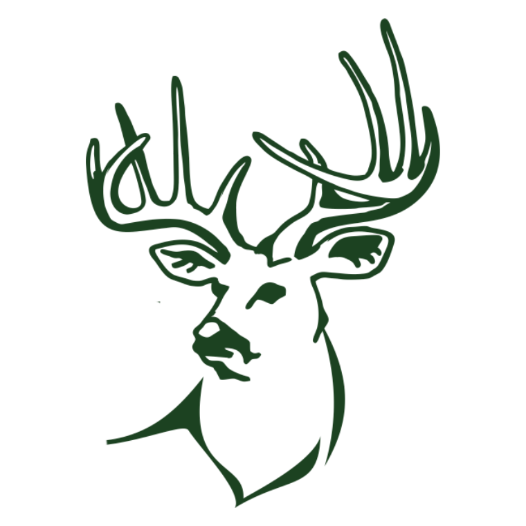 north fork outfitters logo-deer